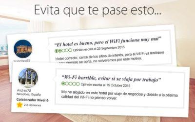 Diseño de grandes redes WiFi. Caso práctico de un Hotel