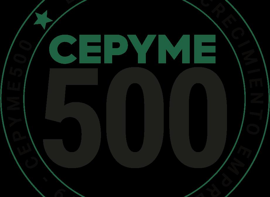 Araelec recibe el reconocimiento CEPYME 500