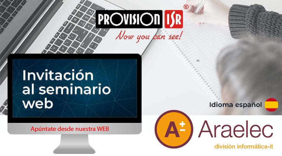 webinar provision